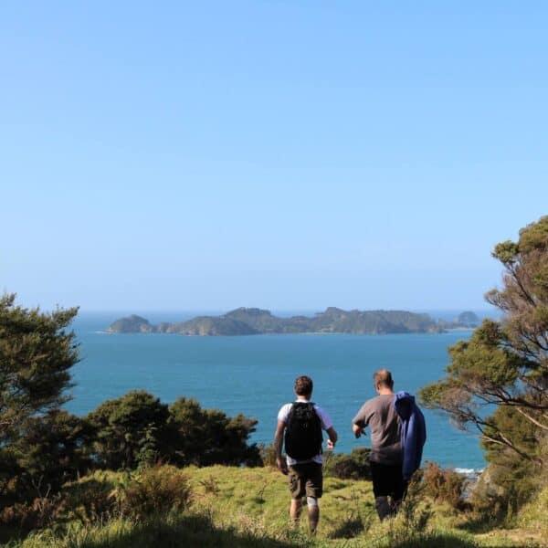 Walking, Russell, Bay of Islands