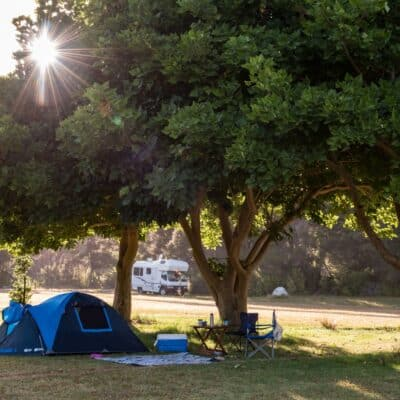 Camping and Campervan sites, Russell Orongo Bay Holiday Park