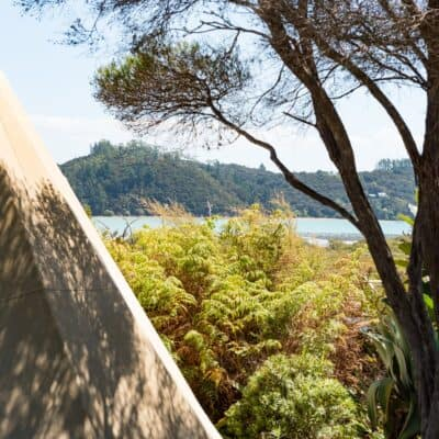 Tipi, Russell Orongo Bay Holiday Park