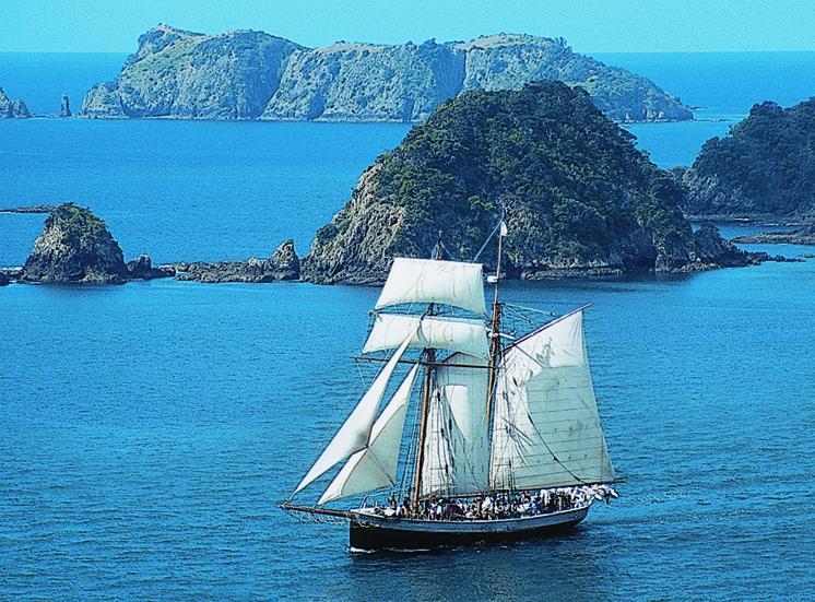 Sailing, Bay of Islands