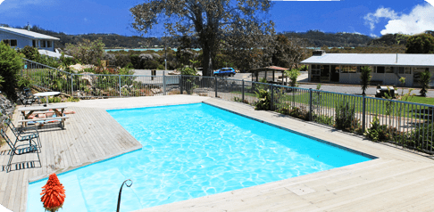 Swimming Pool, Russell Orongo Bay Holiday Park
