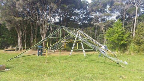 Building Marae, Russell-Orongo Bay Holiday Park